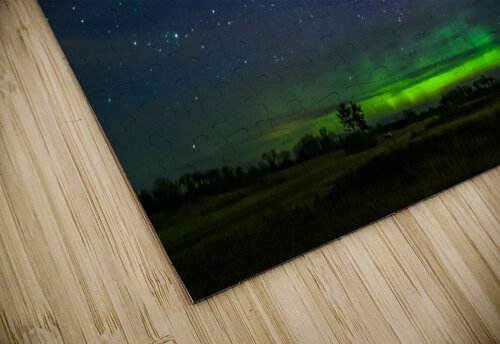 Northern Lights MN jigsaw puzzle