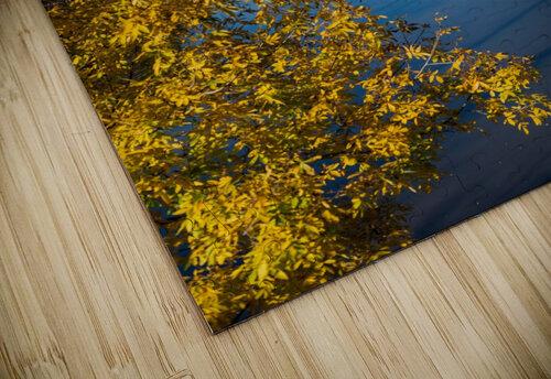 Harpersfield Ohio covered bridge autumn 2020 jigsaw puzzle