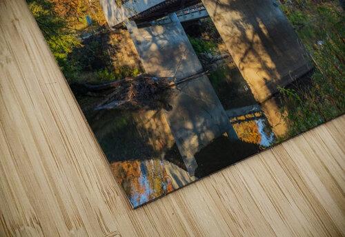 Mechanicsville covered bridge over Grand River Ohio jigsaw puzzle