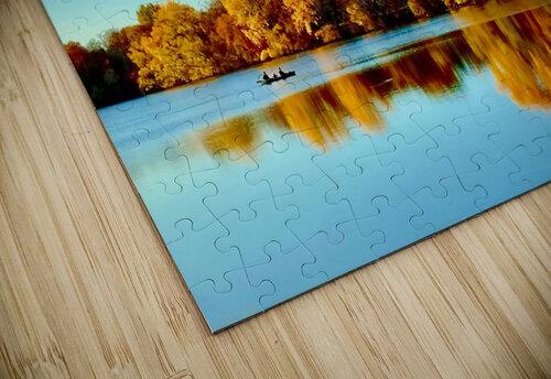 Autumn Canoe jigsaw puzzle