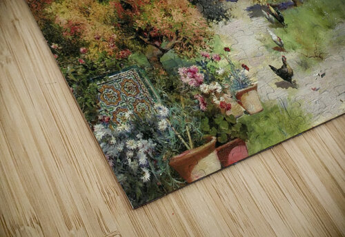 An afternoon stroll jigsaw puzzle