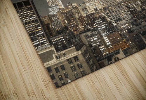 Empire State Building with New York City Manhattan skyline with skyscrapers jigsaw puzzle