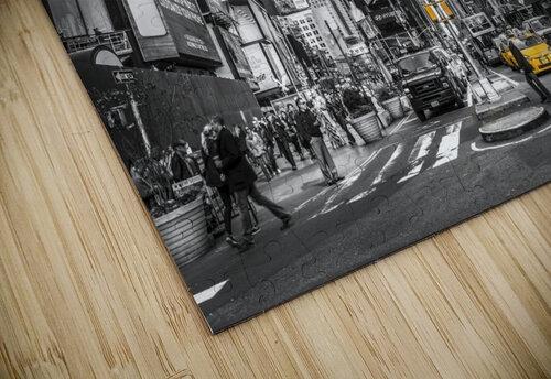 Traffic signal on broadway Times Square,  Manhattan, New York City jigsaw puzzle