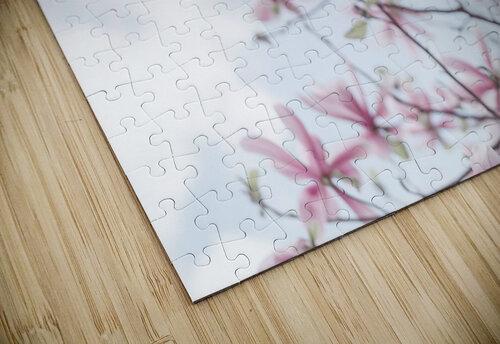 Magnolias against sky jigsaw puzzle