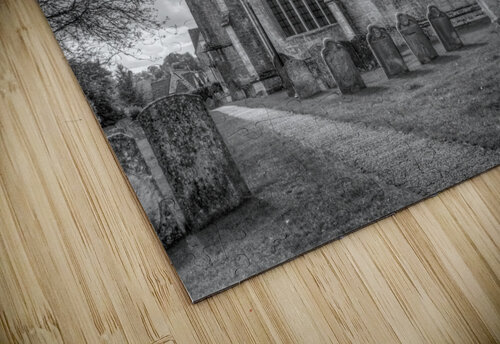 Old church in Northleach town, Cotswolds, UK jigsaw puzzle