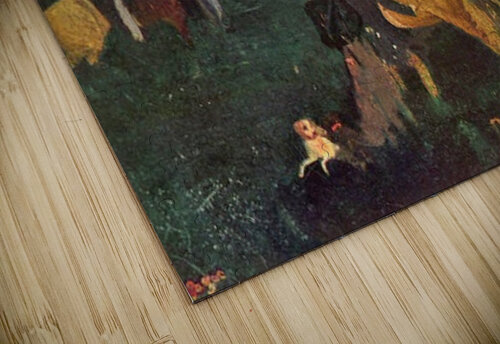 Riders in the  landscape by Degas jigsaw puzzle