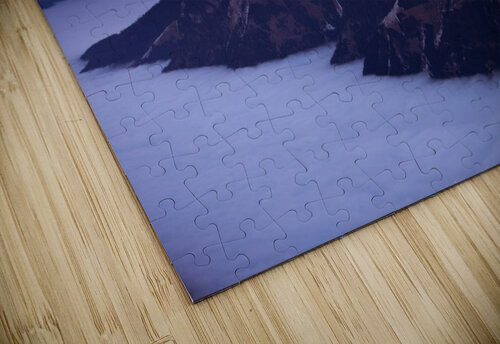 Full Moon over a sea of clouds jigsaw puzzle
