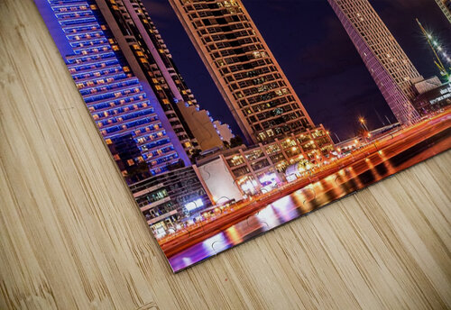 Dubai Marina Night Shot jigsaw puzzle