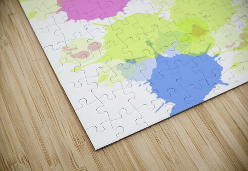 Cotton candy jigsaw puzzle