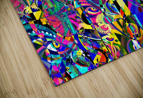 Eclosion fractale jigsaw puzzle