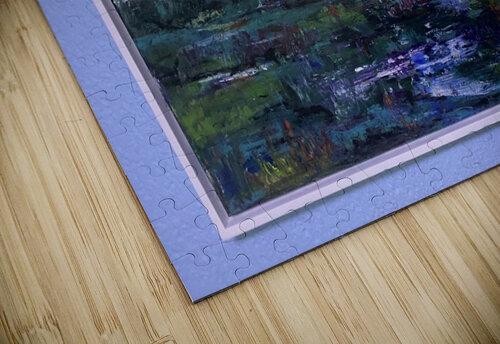 A swamp Concert  Acryl on Canvas 80x60  FRAMED  jigsaw puzzle