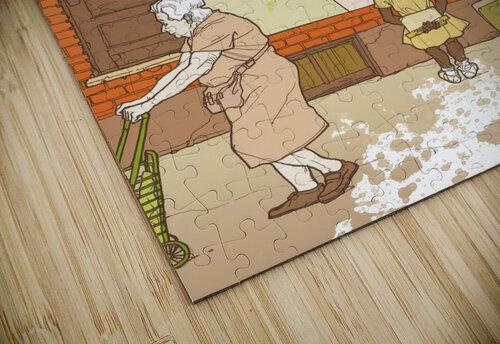 Fashion jigsaw puzzle