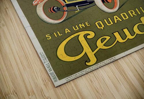 Quadrilette Peugeot jigsaw puzzle