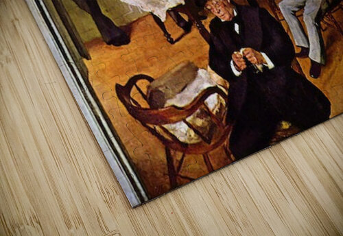 The cotton exchange by Degas jigsaw puzzle