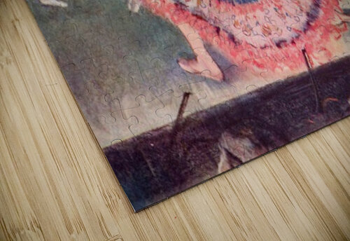 The curtain falls by Degas jigsaw puzzle