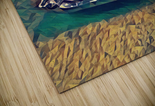 57 chevy car art jigsaw puzzle