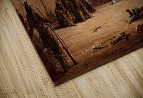 Indian Lodge jigsaw puzzle