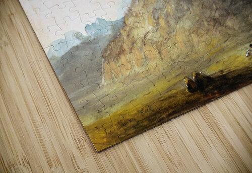 Chimney Rock near Scotts Bluff jigsaw puzzle