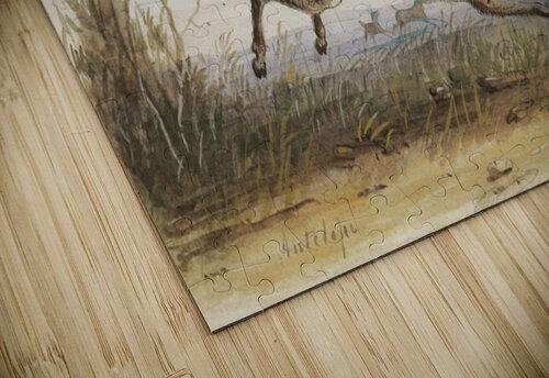 Antelope jigsaw puzzle