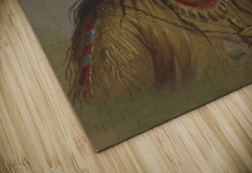 Bannock Indian jigsaw puzzle