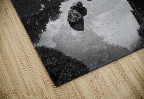Black White Pond jigsaw puzzle