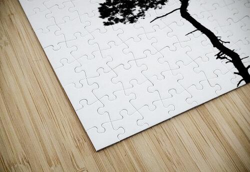 Tree silhouette jigsaw puzzle