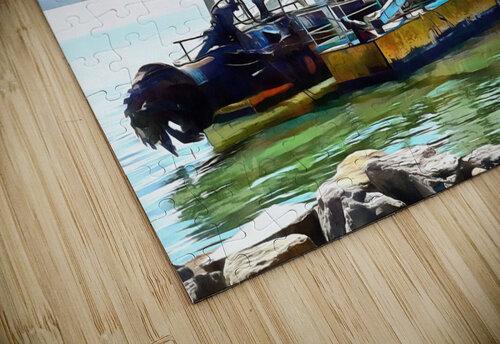 Lake Dredger at Passignano Sul Lago jigsaw puzzle