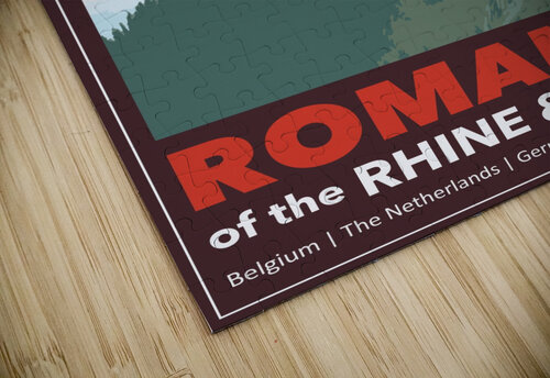 Lydon, Romance of the Rhine and Mosel poster jigsaw puzzle