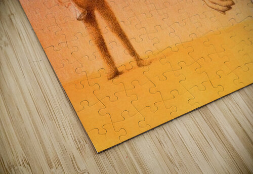 Duel jigsaw puzzle