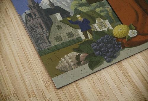 Fly TWA Paris Tourism Poster jigsaw puzzle