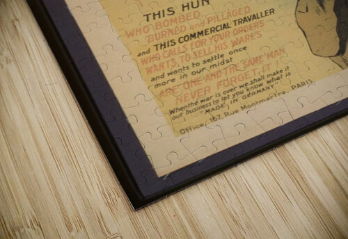 Vintage---Remember-the-Hun jigsaw puzzle