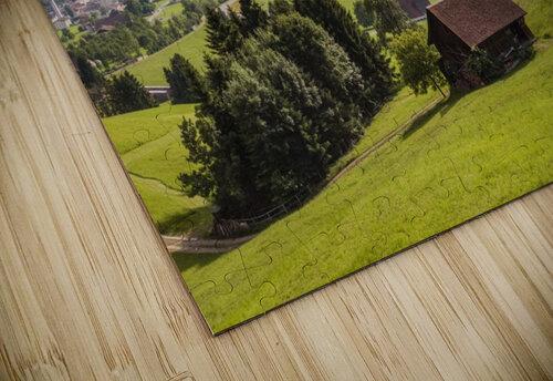 Seewen, a village on Lake Lauerz; Schwyz Canton, Switzerland jigsaw puzzle