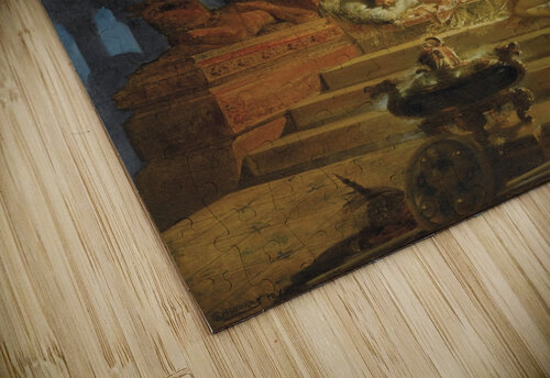 Scheherazade and the Sultan jigsaw puzzle