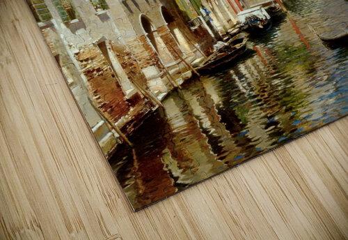 A Venetian Canal with the Scuola Grande di San Marco and Campo San Giovanni e Paolo jigsaw puzzle