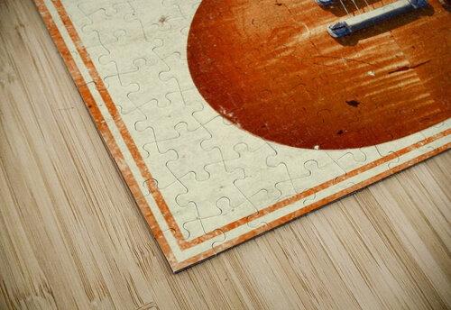 Orange vintage advertising poster jigsaw puzzle