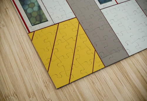 Facade jigsaw puzzle