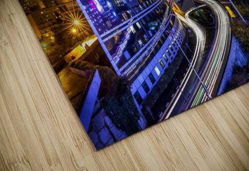Night traffic jigsaw puzzle