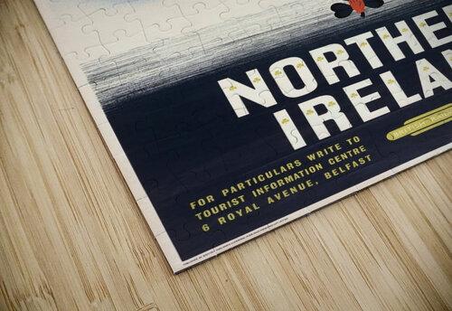 Vintage BR Irish Shamrock Travel poster jigsaw puzzle