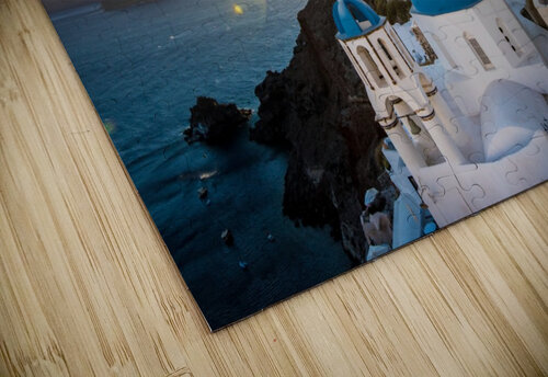 Coastal Oia jigsaw puzzle