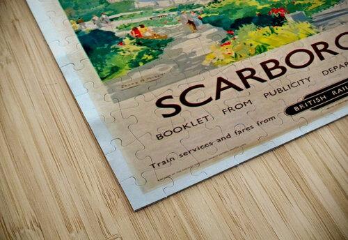Original Railway Poster Scarborough jigsaw puzzle