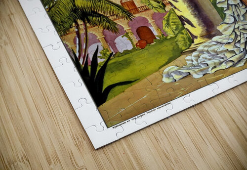 Cuba Holiday Isle of the Tropics poster jigsaw puzzle