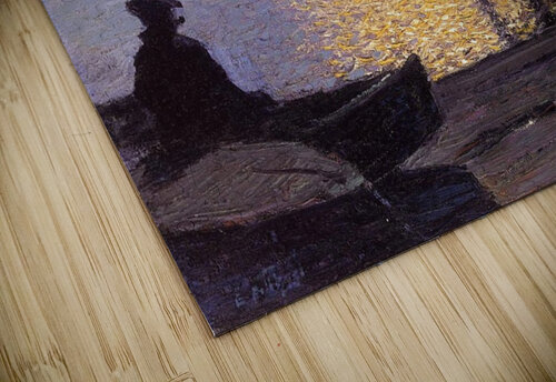 Fisherman in the sunset jigsaw puzzle