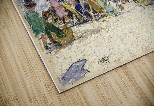 Scene by the beach jigsaw puzzle