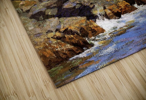 Cliffs and the sea landscape jigsaw puzzle