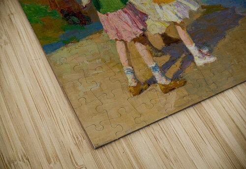 At The Beach and Cold Feet jigsaw puzzle