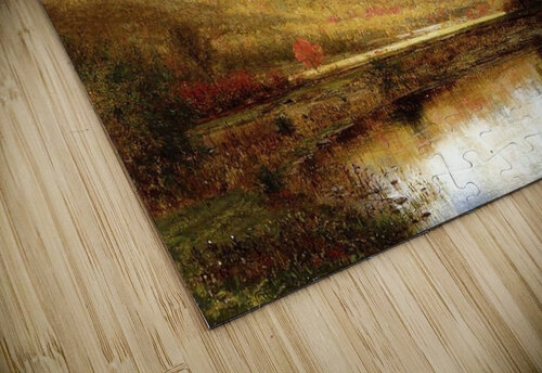 Autumn on the Deleware jigsaw puzzle