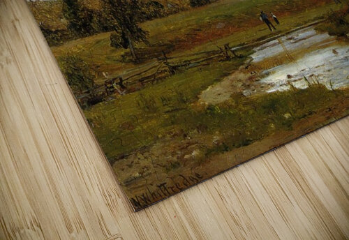 Going to the Village jigsaw puzzle