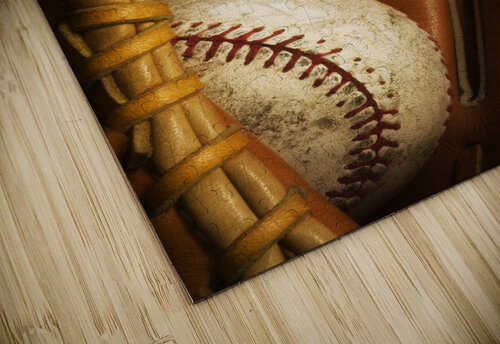 Baseball Glove And Baseball jigsaw puzzle