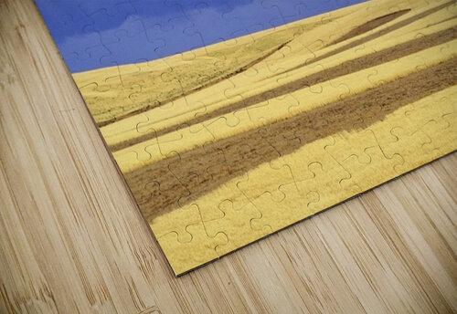 Wheat Fields Near Hermiston, Oregon, Usa jigsaw puzzle
