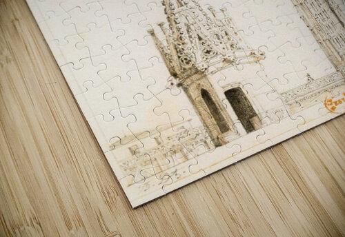 Tour et fleche de la cathedrale de Strasbourg jigsaw puzzle